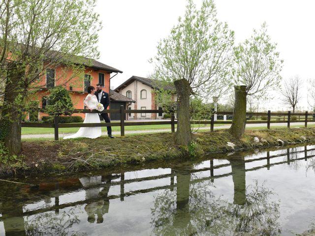 Il matrimonio di Fabio e Francesca a Robecco sul Naviglio, Milano 33