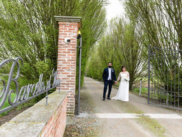 Il matrimonio di Fabio e Francesca a Robecco sul Naviglio, Milano 35