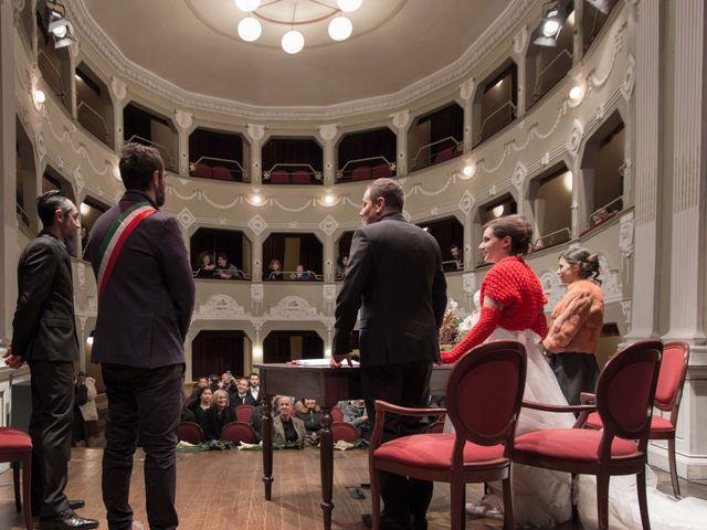 Il matrimonio di Daniele e Eleonora a Montecosaro, Macerata 12