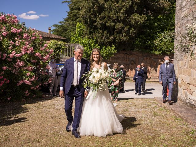 Il matrimonio di Federico e Alessia a Palaia, Pisa 27