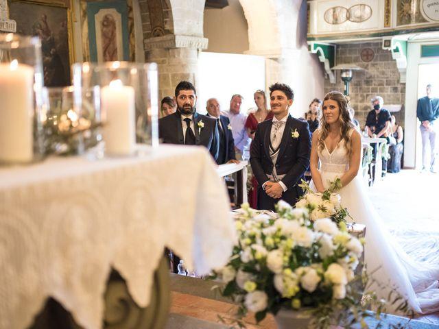 Il matrimonio di Federico e Alessia a Palaia, Pisa 30
