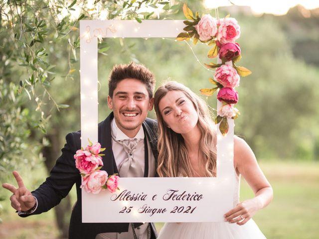 Il matrimonio di Federico e Alessia a Palaia, Pisa 53