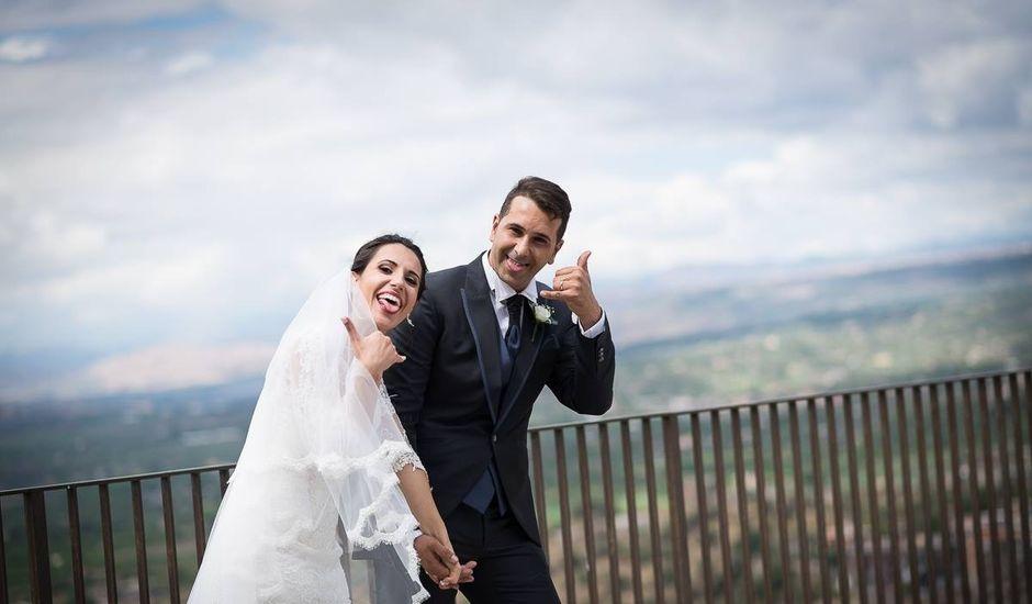 Il matrimonio di Gianluca e Maria a Nicolosi, Catania