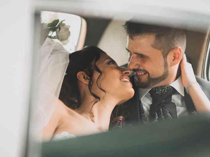 le nozze di Valentina e Riccardo