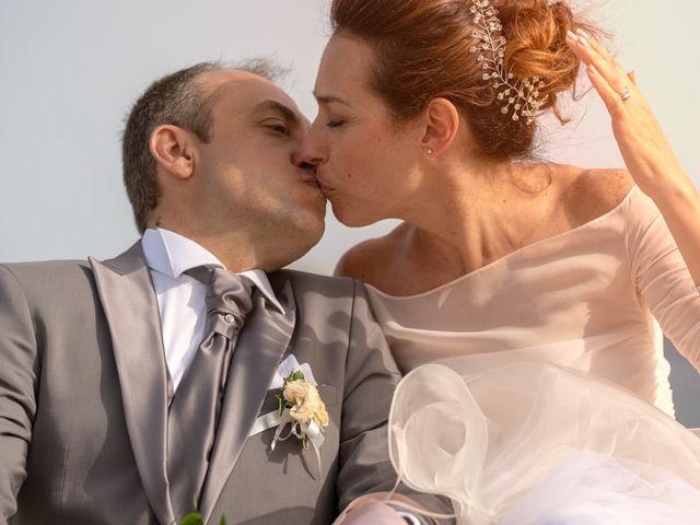 le nozze di Romina e Andrea
