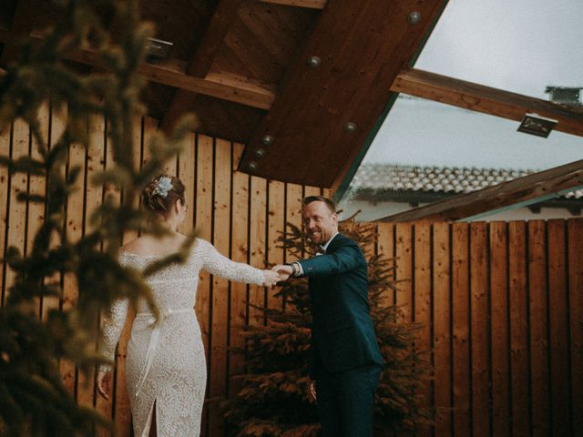 Il matrimonio di Marcel e Carolin a Corvara in Badia- Corvara, Bolzano 123