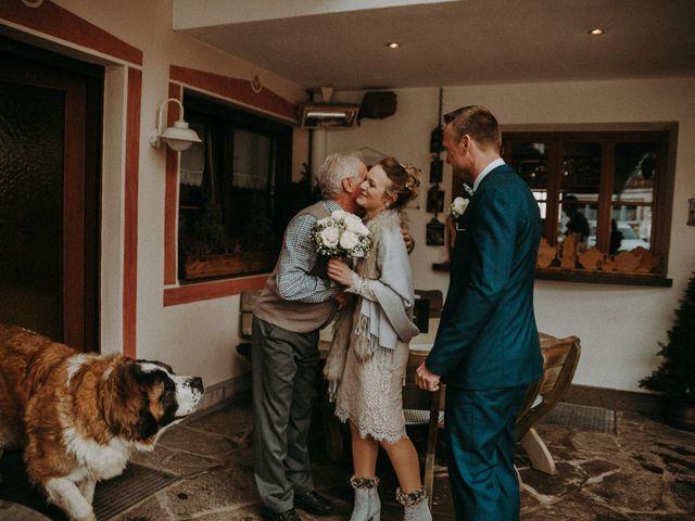 Il matrimonio di Marcel e Carolin a Corvara in Badia- Corvara, Bolzano 147