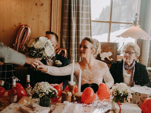 Il matrimonio di Marcel e Carolin a Corvara in Badia- Corvara, Bolzano 149