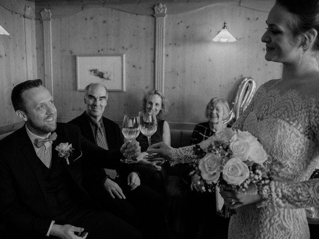 Il matrimonio di Marcel e Carolin a Corvara in Badia- Corvara, Bolzano 155