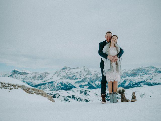 Il matrimonio di Marcel e Carolin a Corvara in Badia- Corvara, Bolzano 163