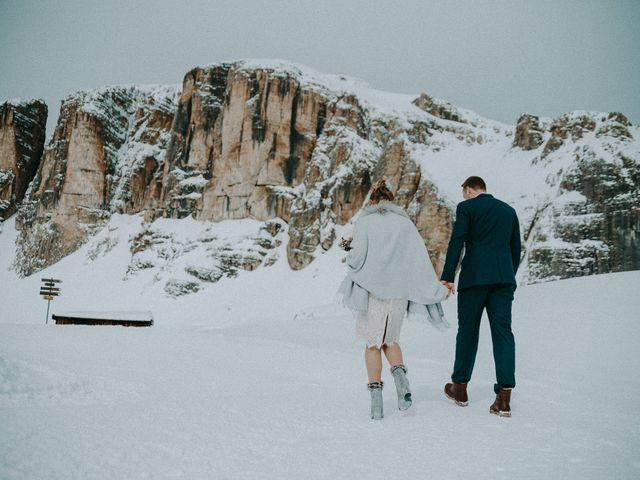Il matrimonio di Marcel e Carolin a Corvara in Badia- Corvara, Bolzano 171