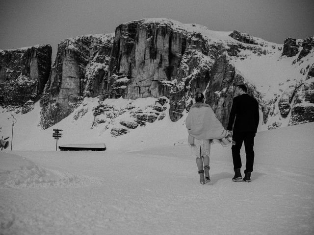 Il matrimonio di Marcel e Carolin a Corvara in Badia- Corvara, Bolzano 173