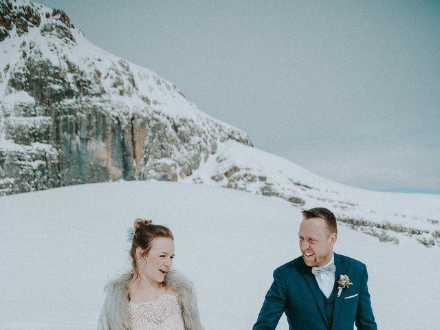 Il matrimonio di Marcel e Carolin a Corvara in Badia- Corvara, Bolzano 174
