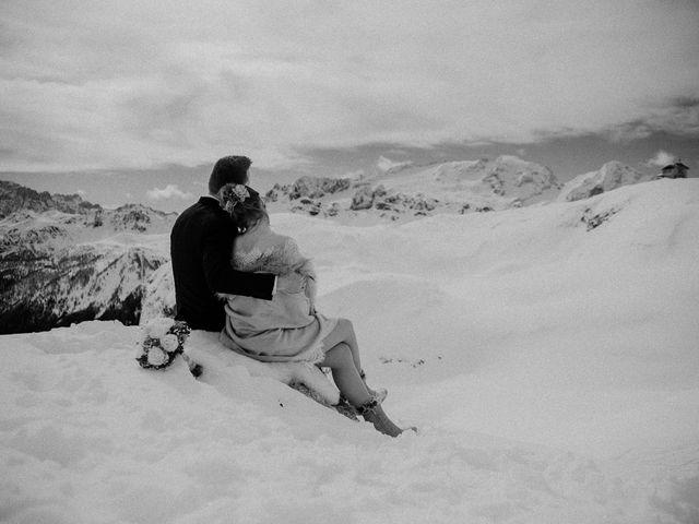Il matrimonio di Marcel e Carolin a Corvara in Badia- Corvara, Bolzano 204