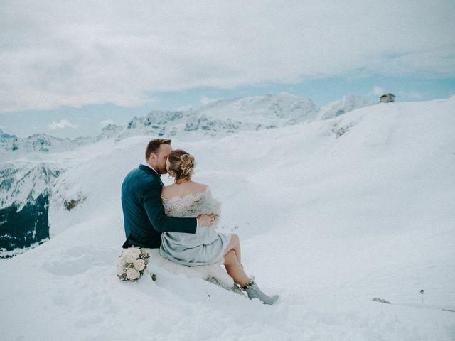 Il matrimonio di Marcel e Carolin a Corvara in Badia- Corvara, Bolzano 206
