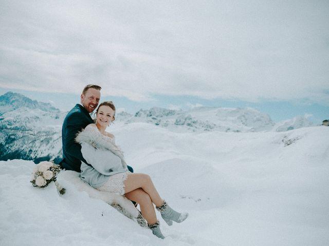 Il matrimonio di Marcel e Carolin a Corvara in Badia- Corvara, Bolzano 207