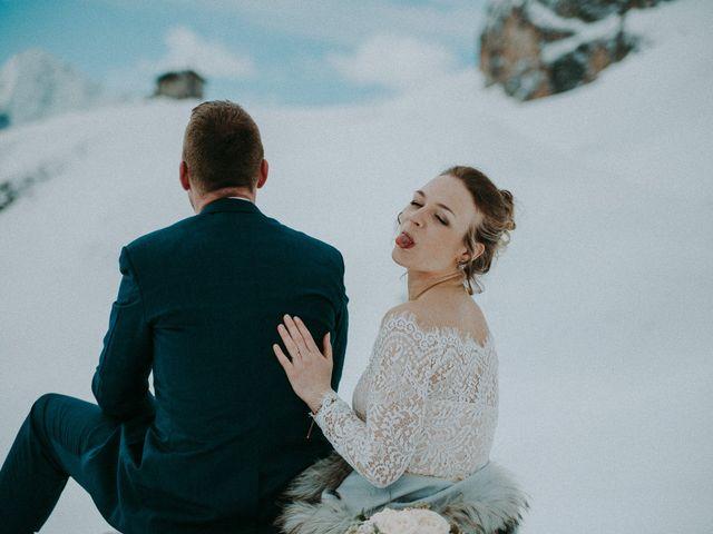 Il matrimonio di Marcel e Carolin a Corvara in Badia- Corvara, Bolzano 216