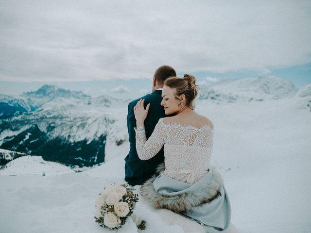 Il matrimonio di Marcel e Carolin a Corvara in Badia- Corvara, Bolzano 219