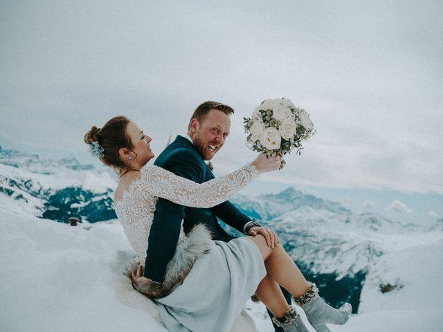 Il matrimonio di Marcel e Carolin a Corvara in Badia- Corvara, Bolzano 227