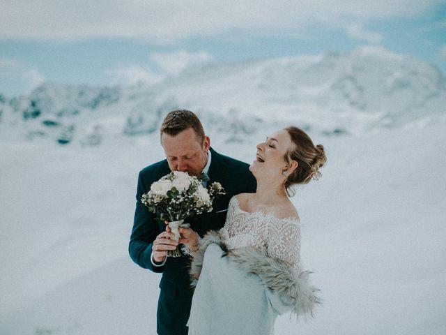 Il matrimonio di Marcel e Carolin a Corvara in Badia- Corvara, Bolzano 233