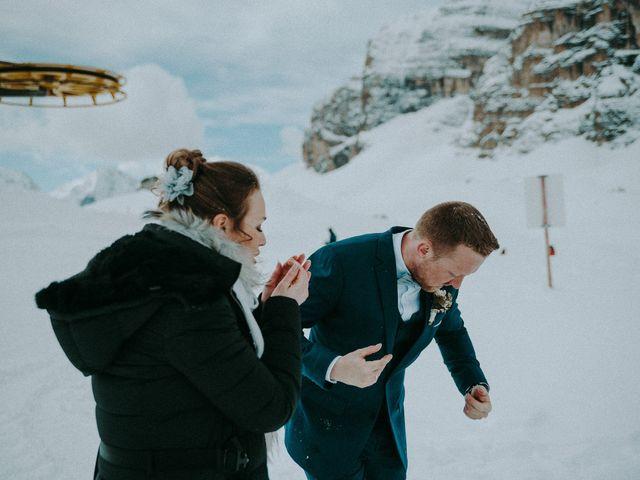 Il matrimonio di Marcel e Carolin a Corvara in Badia- Corvara, Bolzano 252
