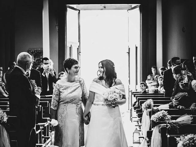 Il matrimonio di Stefano e Federica a Bariano, Bergamo 16