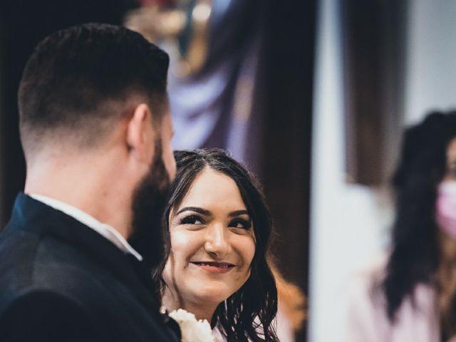 Il matrimonio di Stefano e Federica a Bariano, Bergamo 19