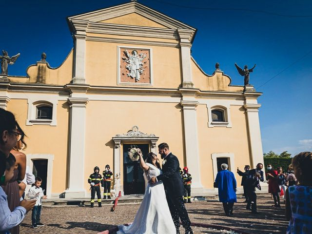 Il matrimonio di Stefano e Federica a Bariano, Bergamo 23