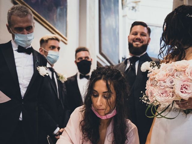 Il matrimonio di Stefano e Federica a Bariano, Bergamo 21