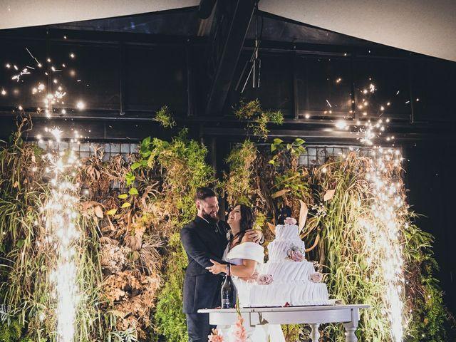Il matrimonio di Stefano e Federica a Bariano, Bergamo 37