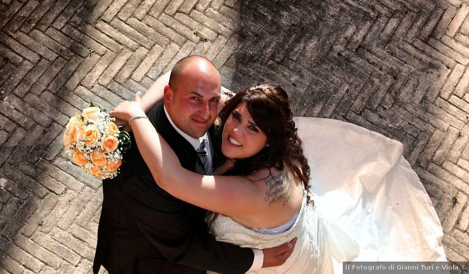 Il matrimonio di Fabrizio e Fabiana a Monterotondo, Roma