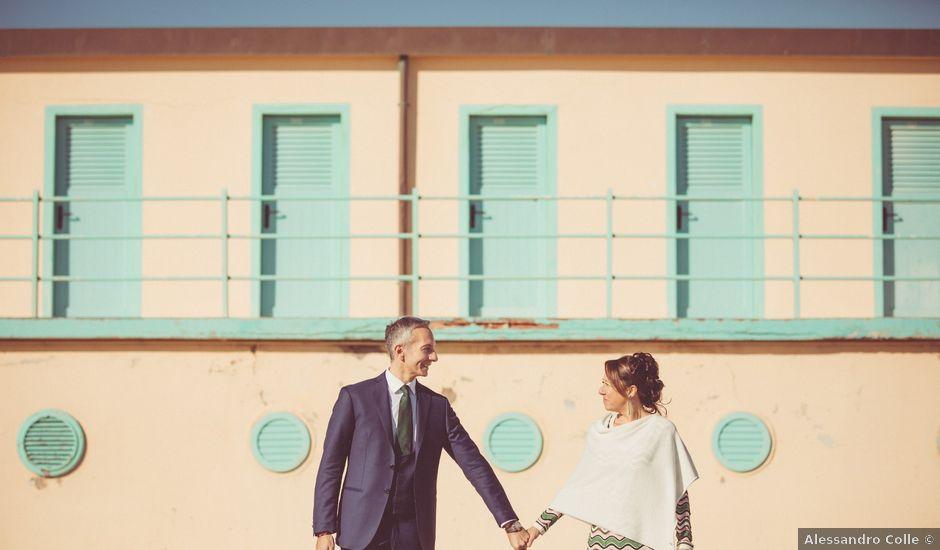 Il matrimonio di Marco e Sara a Viareggio, Lucca
