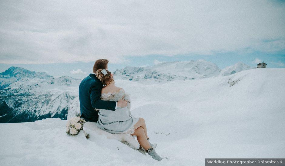 Il matrimonio di Marcel e Carolin a Corvara in Badia- Corvara, Bolzano