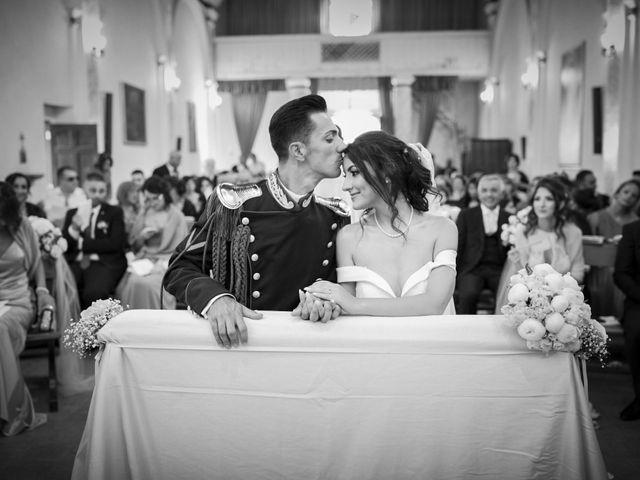 Le nozze di Ylenia e Rino