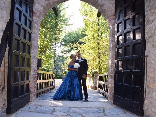 Il matrimonio di Stefano e Sara a Gropparello, Piacenza 17