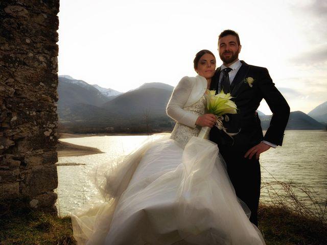 Il matrimonio di Domenico e Teresa a Villetta Barrea, L'Aquila 30