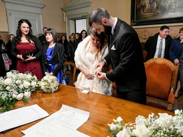Il matrimonio di Andrea e Elisa a Mortara, Pavia 24