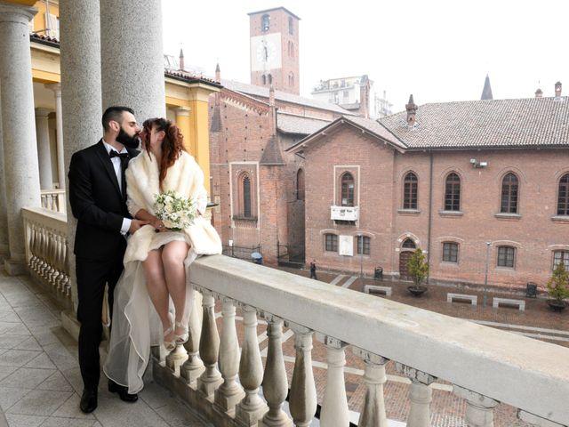 Il matrimonio di Andrea e Elisa a Mortara, Pavia 25