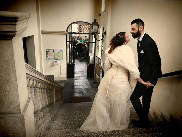 Il matrimonio di Andrea e Elisa a Mortara, Pavia 27