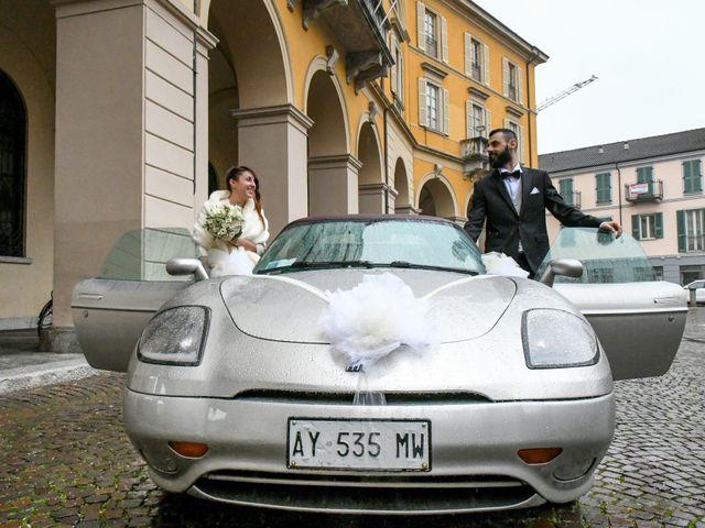 Il matrimonio di Andrea e Elisa a Mortara, Pavia 30