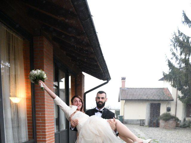 Il matrimonio di Andrea e Elisa a Mortara, Pavia 38