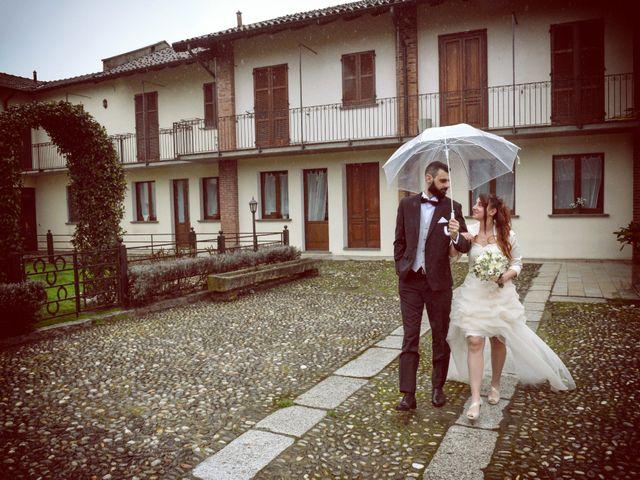 Il matrimonio di Andrea e Elisa a Mortara, Pavia 43