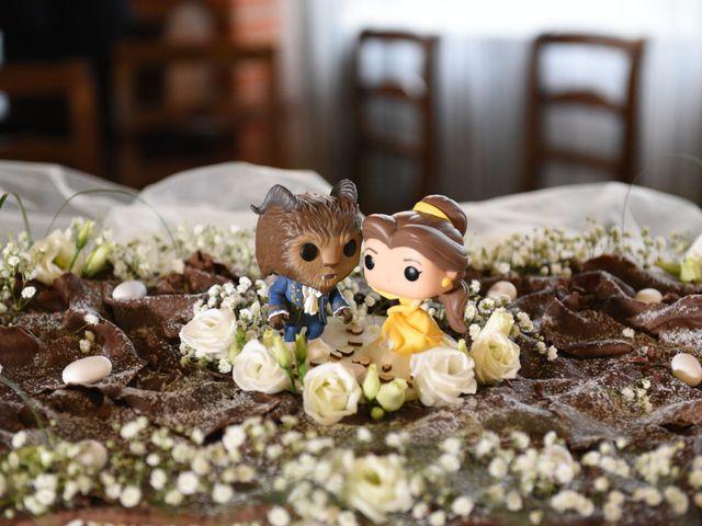 Il matrimonio di Andrea e Elisa a Mortara, Pavia 48