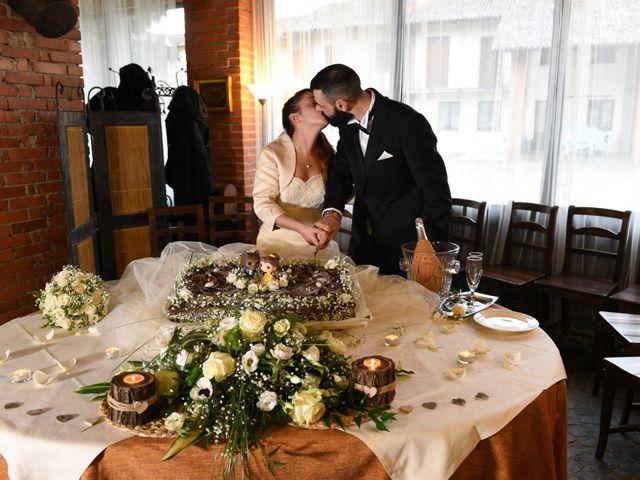Il matrimonio di Andrea e Elisa a Mortara, Pavia 49