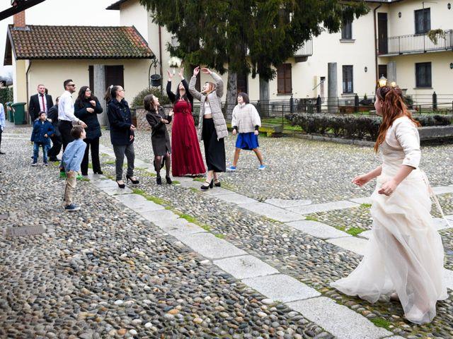 Il matrimonio di Andrea e Elisa a Mortara, Pavia 52