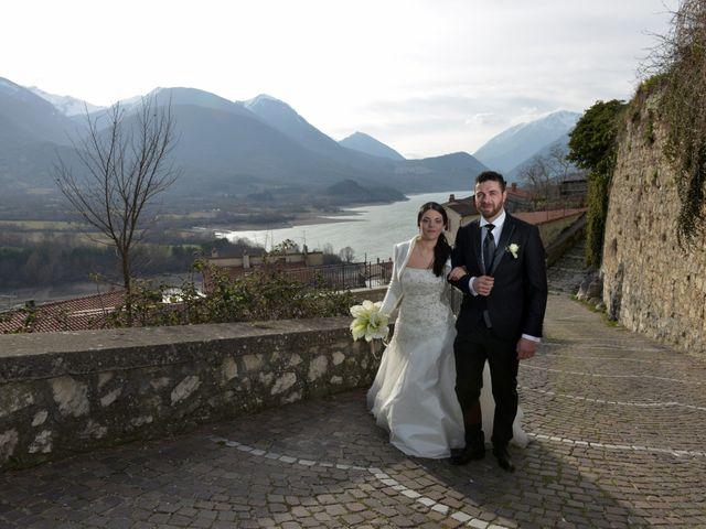 Il matrimonio di Domenico e Teresa a Villetta Barrea, L'Aquila 31