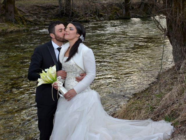 Il matrimonio di Domenico e Teresa a Villetta Barrea, L'Aquila 33