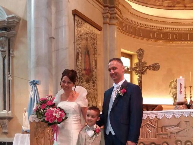 Il matrimonio di Davide e Rosanna a Carugate, Milano 1