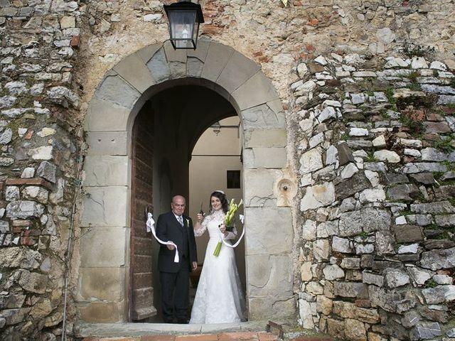 Il matrimonio di Stella e Ettore a Radda in Chianti, Siena 2