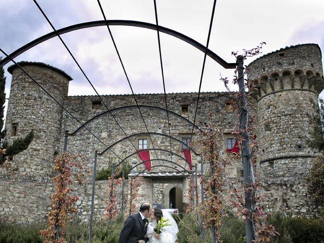 Il matrimonio di Stella e Ettore a Radda in Chianti, Siena 3